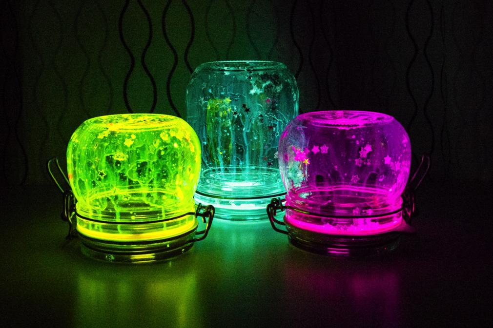 Não tenho medo do escuro: Luzes Noturnas Mágicas