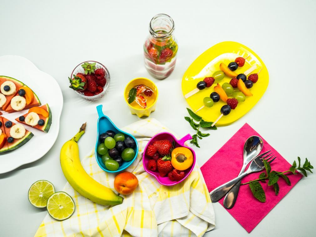 Receitas Divertidas para Piqueniques Usando Frutas