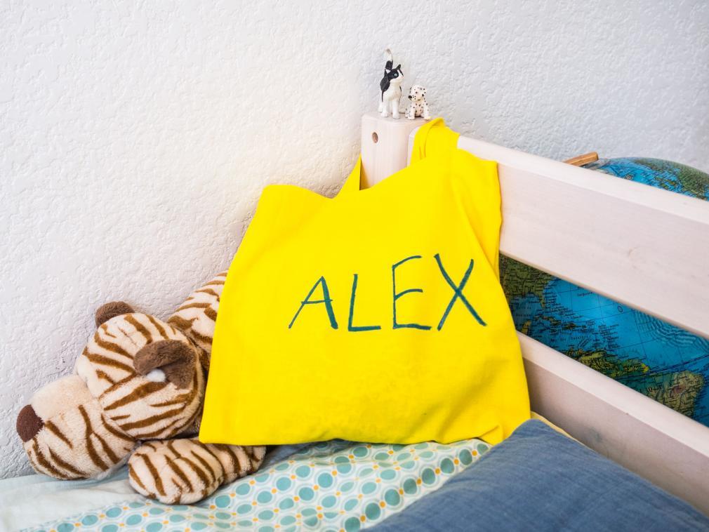 Sua própria sacola para pijamas