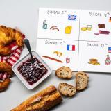 Dia do Café da Manhã Mundial; Comida global com crianças