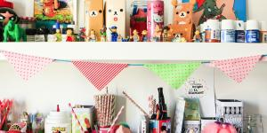 Decore o Quarto do seu Filho com Bandeiras de Tecidos