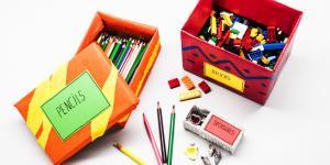 Arrume seu Quarto: Caixas Artesanais Pintadas