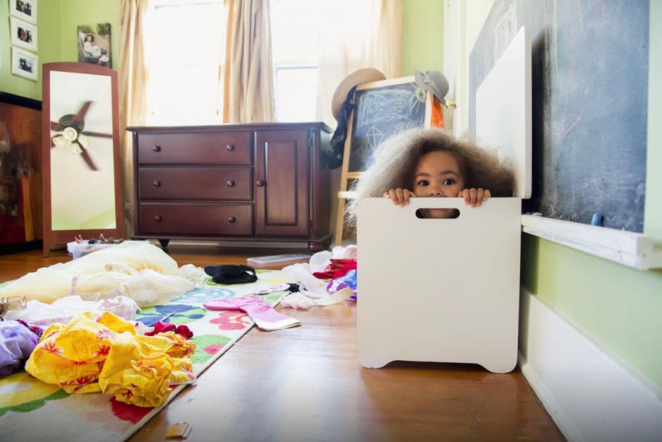 Por que o quarto do meu filho é uma bagunça?