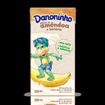 Bebida Vegetal Danoninho Amêndoa e Banana 200ml