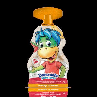 Danoninho Para Levar Morango e Banana 70g
