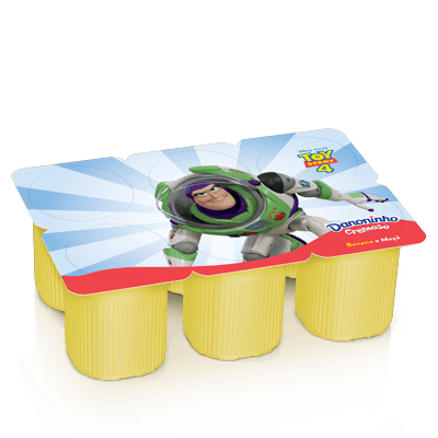 Danoninho Pétit Polpa de Banana e Maçã 540g