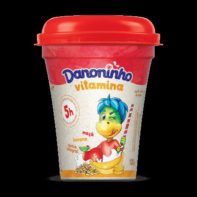 Danoninho Vitamina Banana Maçã e Aveia 130g