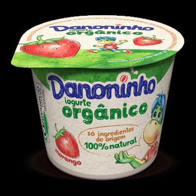 Iogurte Orgânico Danoninho Morango 90g