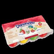 Danoninho Pétit Suisse Morango Banana Maçã 320g