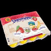Danoninho Pétit Suisse Morango e Banana 480g