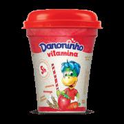 Danoninho Vitamina Morango Cenoura e Cereais 130g