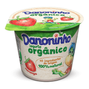 Danoninho Orgânico Morango 90g