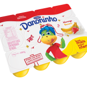 Danoninho Petit Suisse Morango/Banana 480g